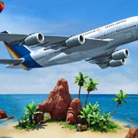 Airplane Simulator Island Travel Online