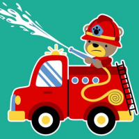 Animal Firetrucks Match 3 Online