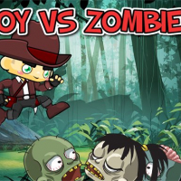 Boy vs Zombies Online