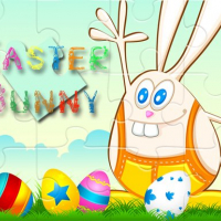 Easter Bunny Puzzle Online