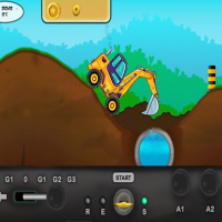 Excavator Runner Game Online
