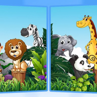 Find Seven Differences - Animals Online