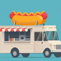 Food Trucks Jigsaw Online