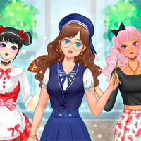 Kawaii High School Teacher Dress Up Online