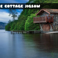 Lake Cottage Jigsaw Online