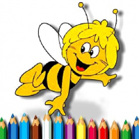 Maja the Bee Coloring Book Online