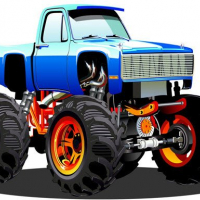 Monster Truck Puzzle Online