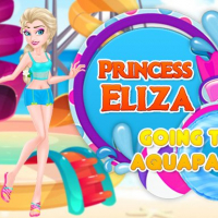 Princess Eliza Going To Aquapark Online