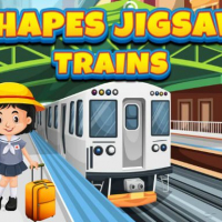 Shapes Jigsaw Trains Online