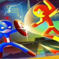 Super Stickman Heroes Fight Online