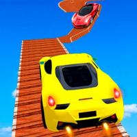 Tricky Impossible Tracks Car Stunt Racing Online
