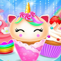 Unicorn Mermaid Cupcake Cooking Design Online
