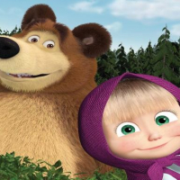 Farm Masha and the Bear Educational Games online Online