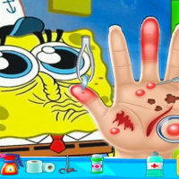 Spongebob Hand Doctor Game Online - Hospital Surge